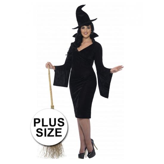Heksen jurk voor grote dames 56-58 (3XL)