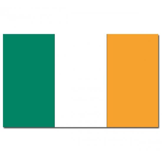 Ierse vlag 90 x 150 cm