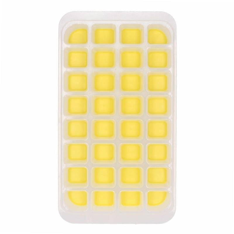 IJsblokjes maken vorm geel Geel