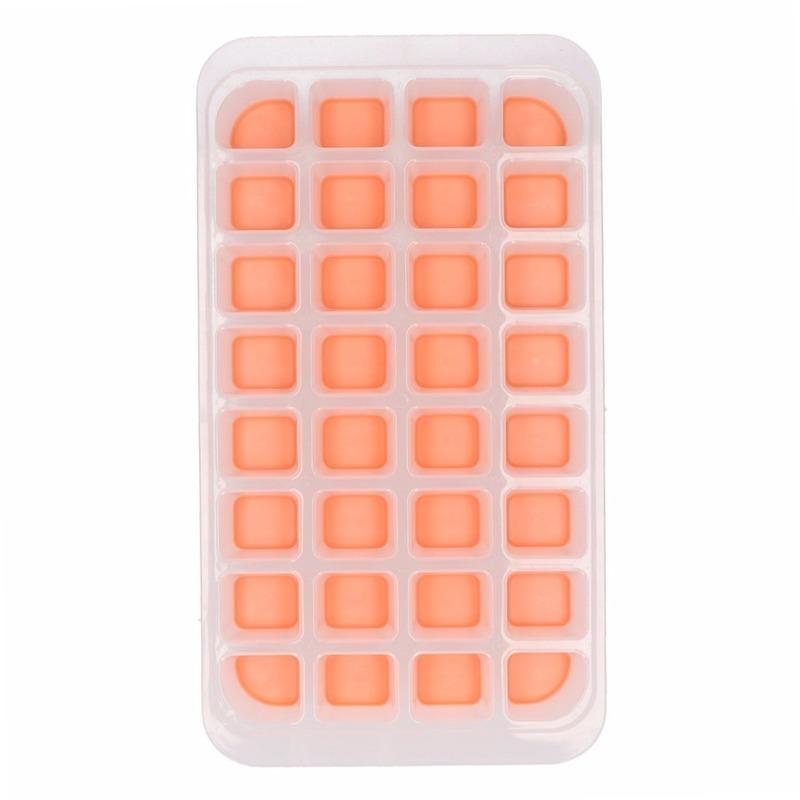 IJsblokjes maken vorm oranje Oranje