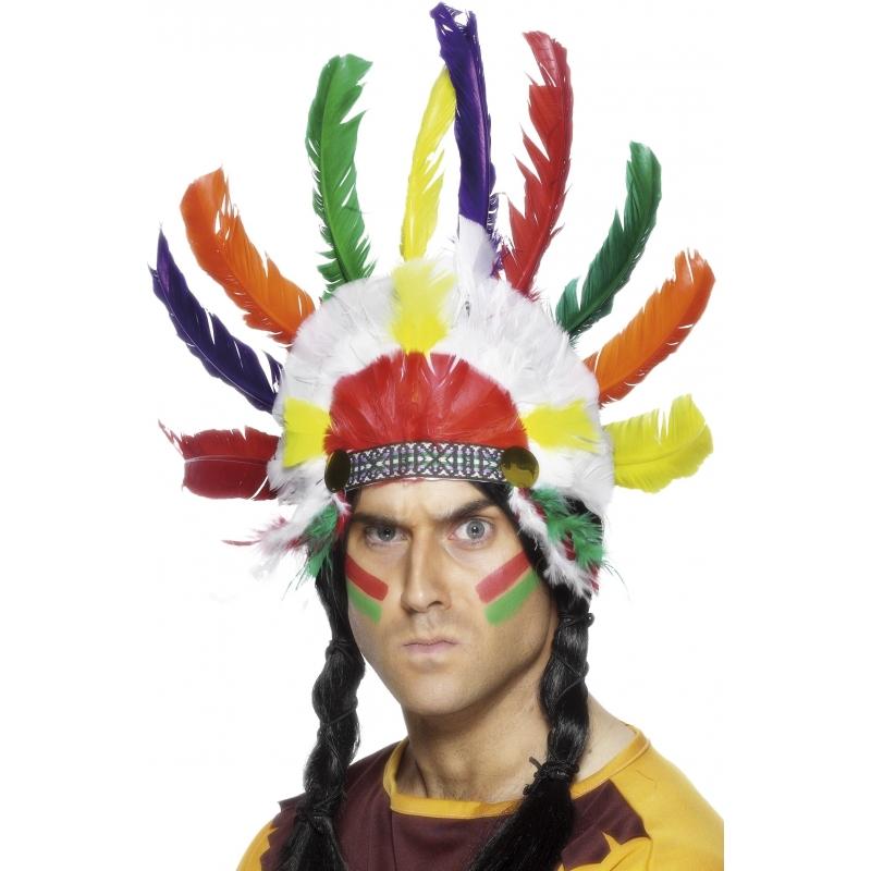 7e9c6bc4fed598 Indianen tooi voor volwassenen