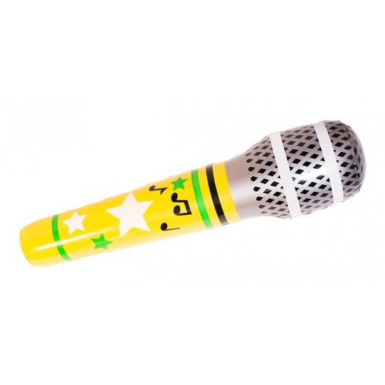 Jumbo opblaasbare microfoon 88 cm Multi