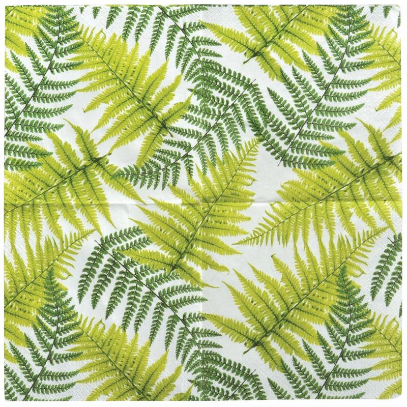 Jungle servetten 40 stuks Groen