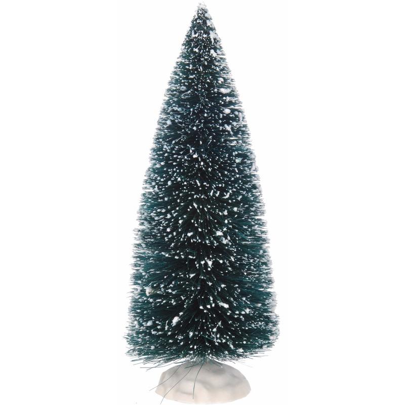 Kerstdorp boompjes groen 2 stuks