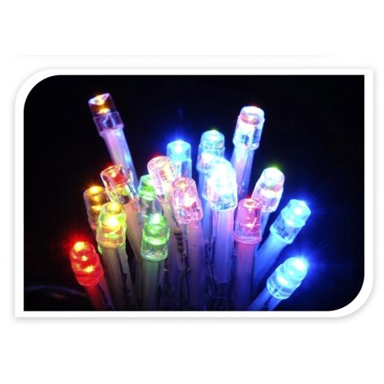 Mini LED lampjes gekleurd op batterij 20 stuks | Fun en Feest