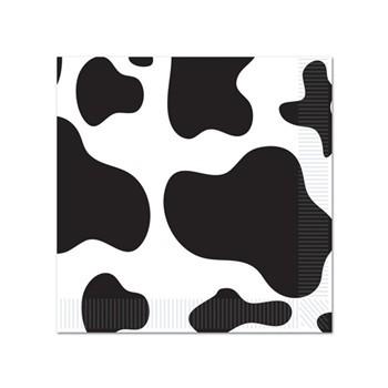Koeien servetten 16 stuks Multi