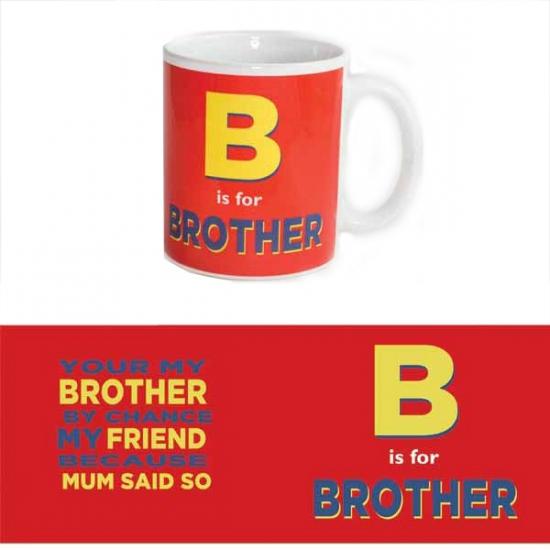 Koffie beker voor broer