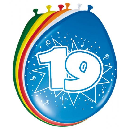 Leeftijd ballonnen 19 jaar Multi