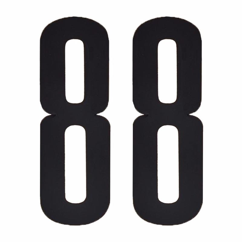 Leeftijd cijfer stickers 88 jaar
