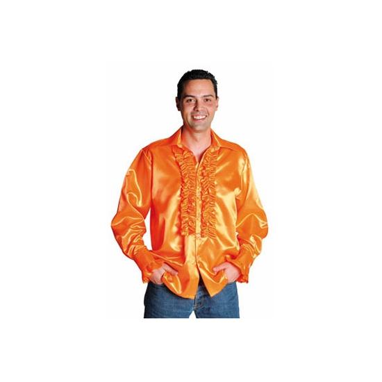 346b812ba65 Feest blouse met rouches voor heren | Fun en Feest