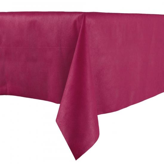 Luxe tafelkleed 140 x 240 bordeaux Rood