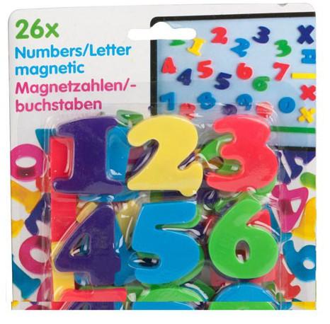 Magnetische cijfers 26 stuks Multi