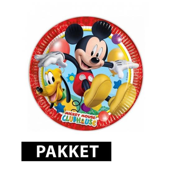 Mickey Mouse feestartikelen pakket Multi