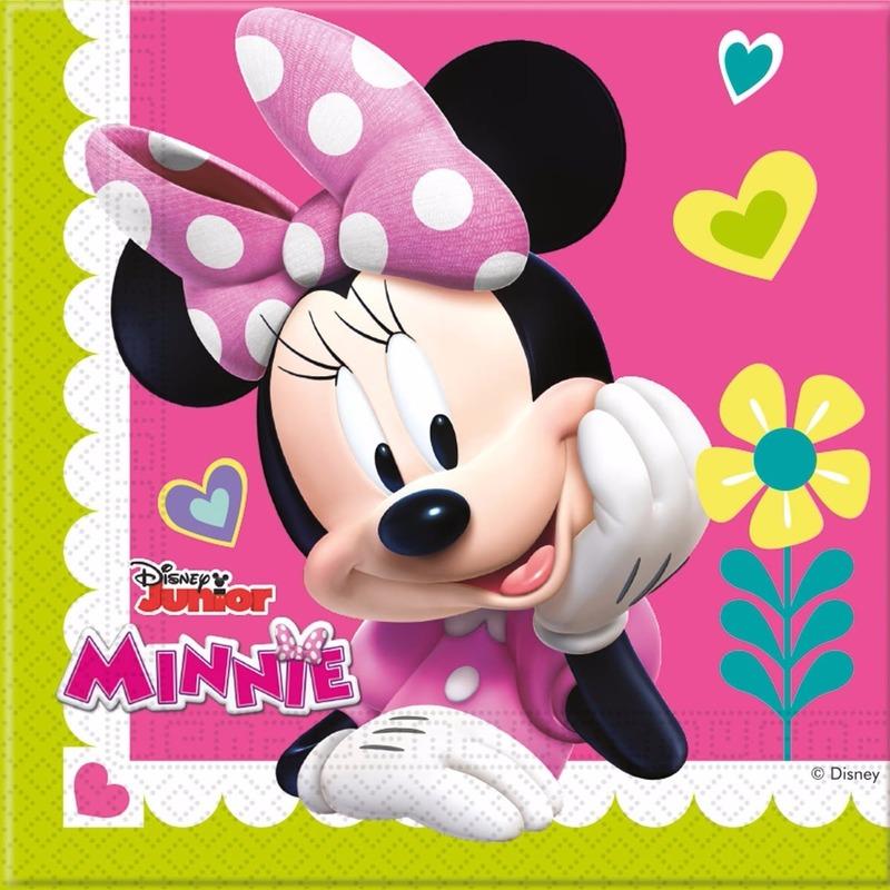 Minnie Mouse servetjes 20 stuks Multi