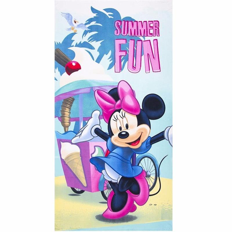 Minnie Mouse summer fun strandlaken 70 x 140 cm