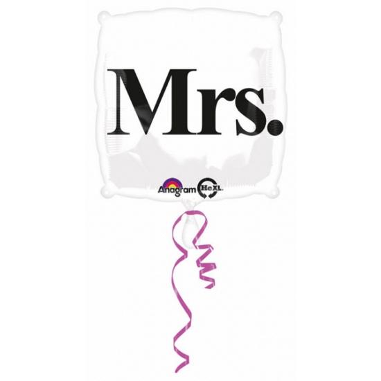 Mrs. helium ballon