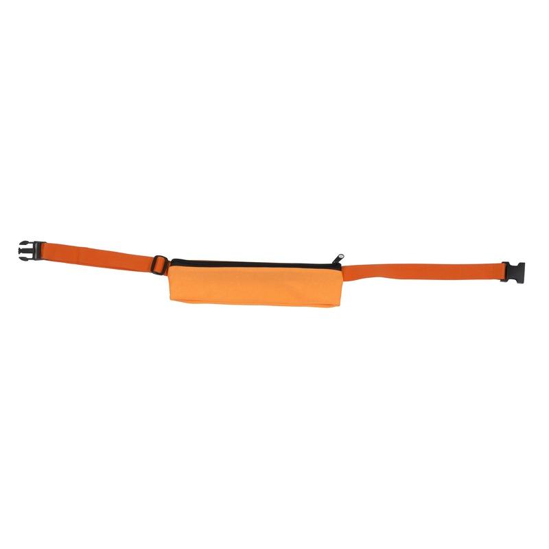 Oranje sport heuptasje 80-107 cm voor volwassenen Oranje