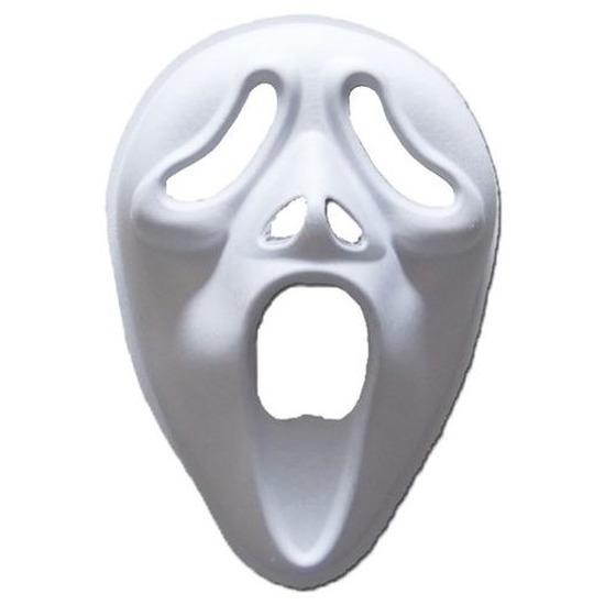 Papieren Scream masker Wit