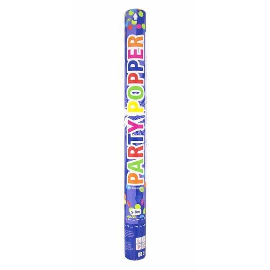 Party confetti kanon ass. kleuren 57 cm Multi