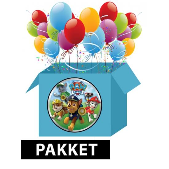 Paw Patrol versieringspakket voor kinderfeestjes Multi