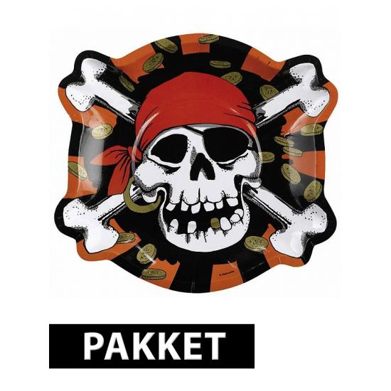 Piraten versiering pakket voor kinderfeestje Multi