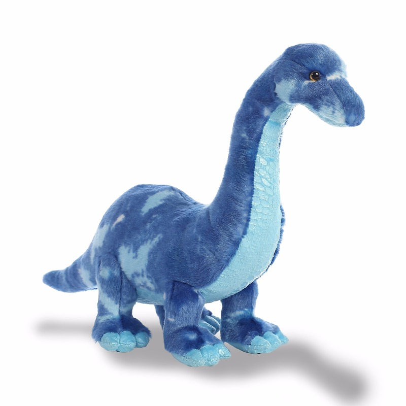 Pluche dinosaurus knuffeldier Brachiosaurus 39 cm