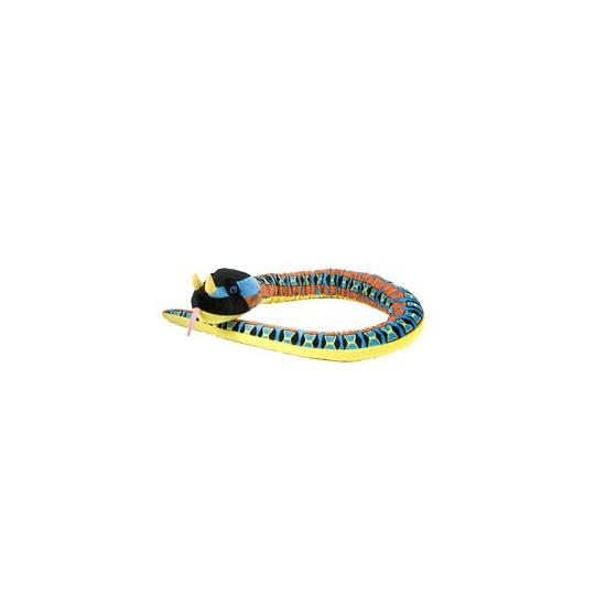 Pluche slangen knuffel adder 137 cm Multi