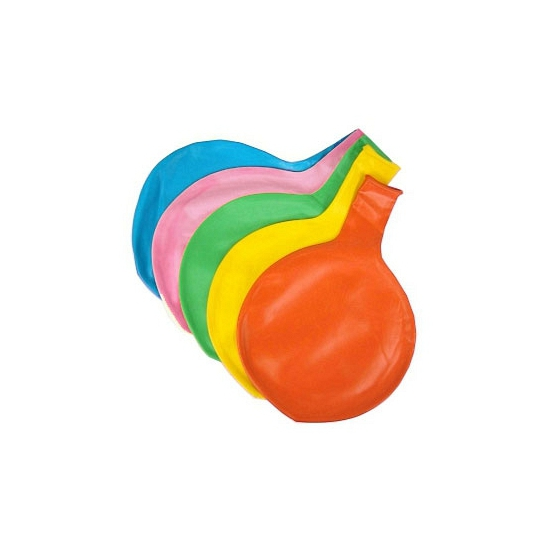 Reuze ballon licht blauw 65 cm
