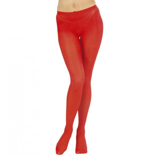 Rode dames panty