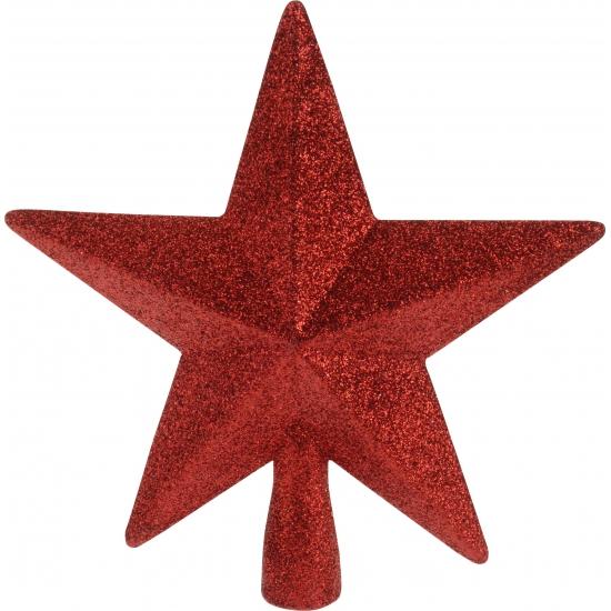 Rode onbreekbare ster piek Rood