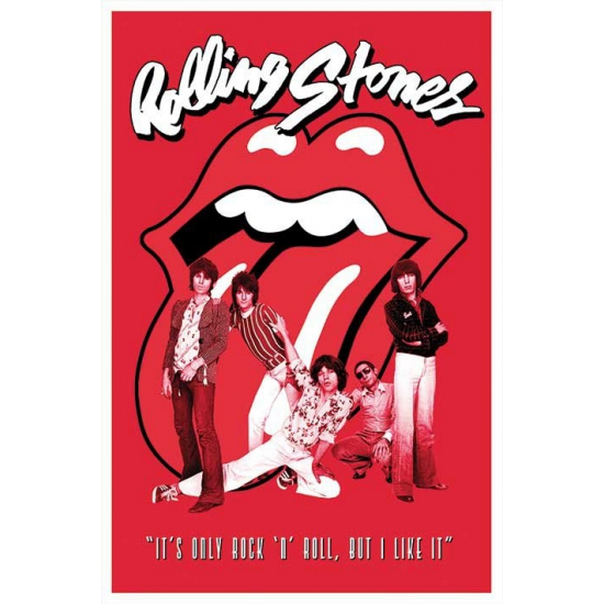 Rolling Stones band maxi poster 61 x 91,5 cm