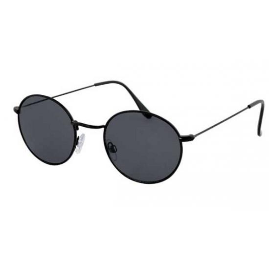 06af15d18c35d0 Zwarte zonnebril met ronde glazen