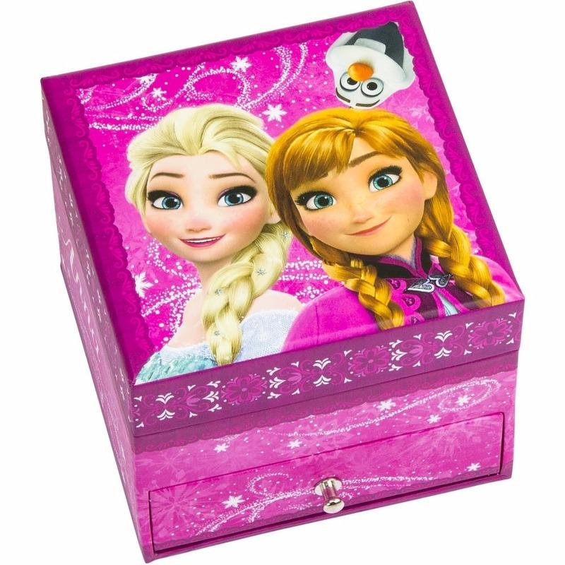 Roze Frozen juwelendoosje