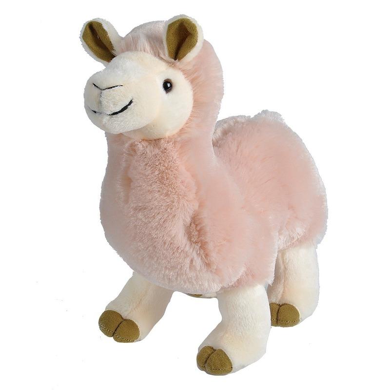 677bee623887bd Pluche roze alpaca/lama knuffel 35 cm speelgoe € 17.95. Bij:  feestartikelen-winkel.nl