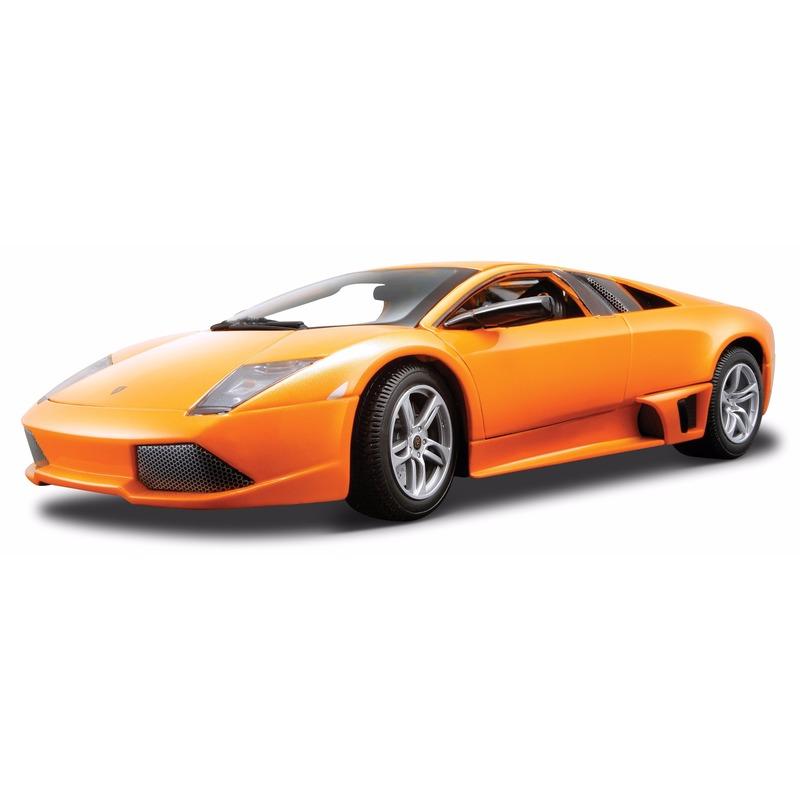 Schaalmodel Lamborghini Murcielago oranje 1:18
