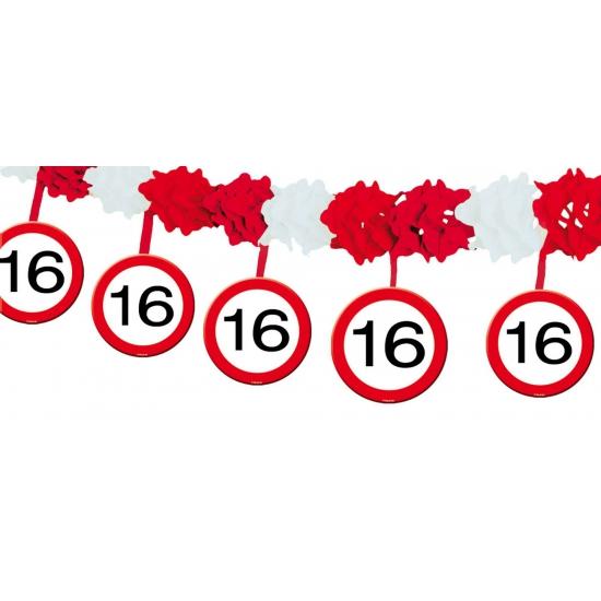 Slinger verkeersbord 16 jaar