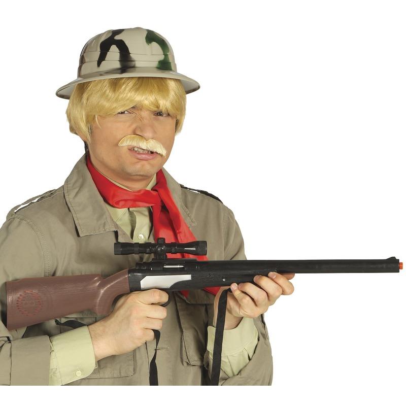Speelgoed scherpschutter geweer 67 cm Bruin