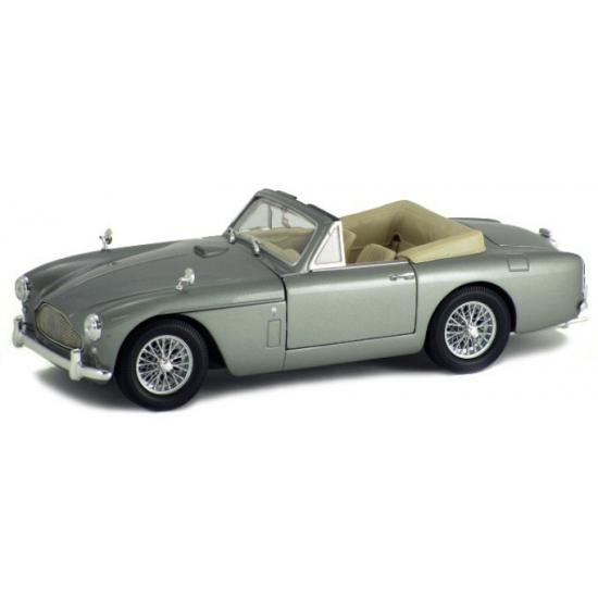 Speelgoedauto Aston Martin DB2 cabrio zilver