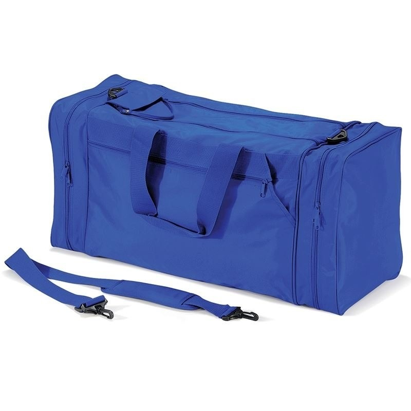 Sporttas kobalblauw 74 liter Blauw