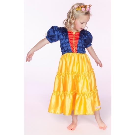 Sprookjesprinsessen jurkje Selina blauw