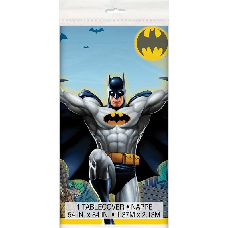 Tafelkleed Batman print 137 x 213 cm tafeldecoratie Multi