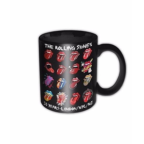 The Rolling Stones koffiemok 50 jaar