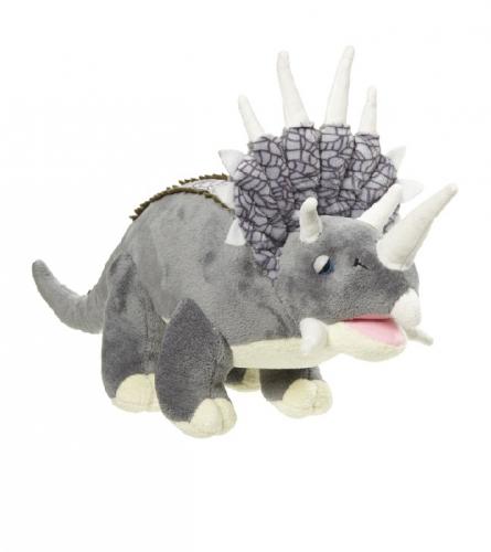 Triceratops knuffeldier 42 cm Grijs
