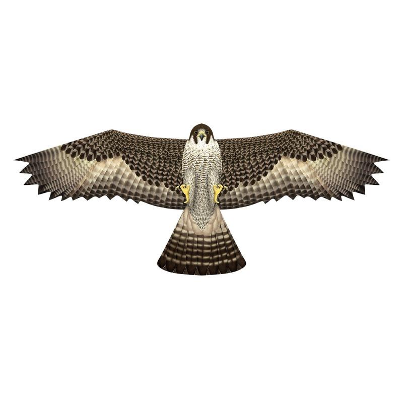 Valken speel vlieger 76 x 112 cm Bruin