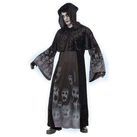 Vergeten zielen kostuums S Zwart