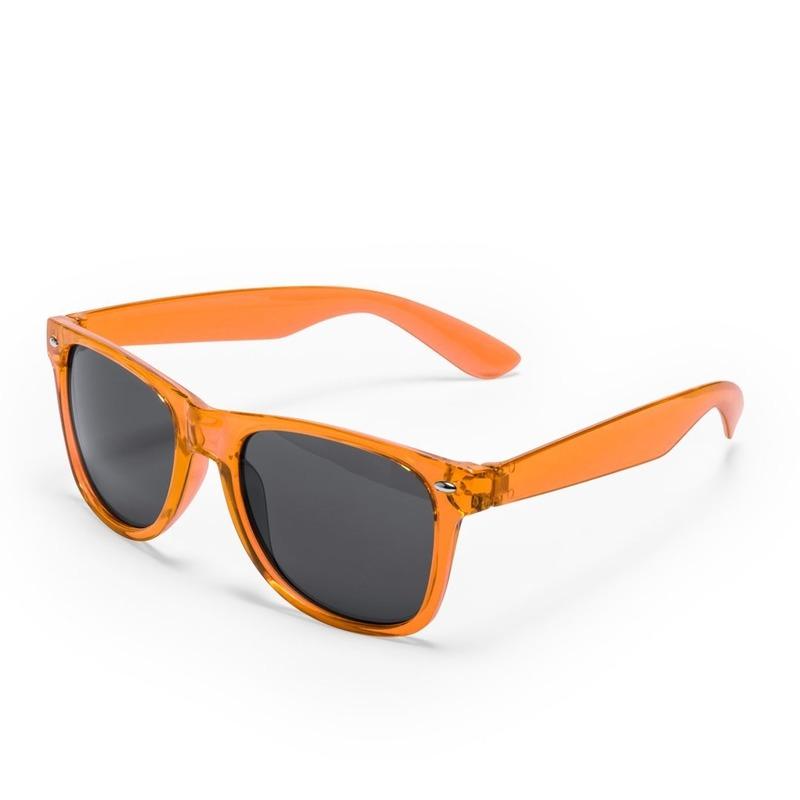 cfc218062449fd Voordelige oranje verkleed zonnebril Oranje € 1.99. Bij  fun-en-feest.nl