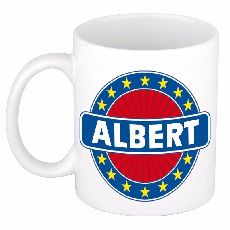 Voornaam Albert koffie/thee mok of beker