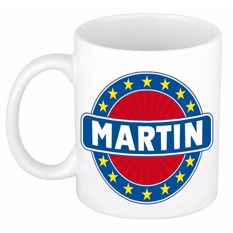 Voornaam Martin koffie/thee mok of beker
