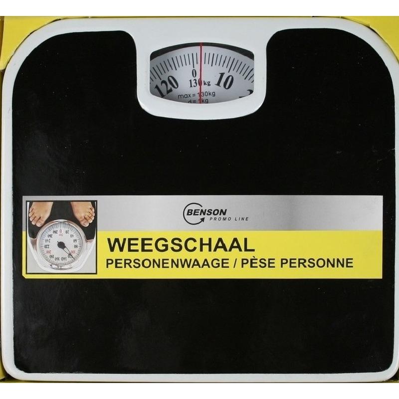 Weegschaal analoog tot 130 kg Multi