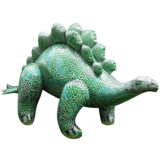 XXL opblaas Stegosaurus groen 117 cm Multi